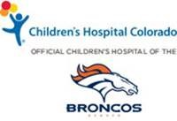 Children's Hospital w Broncos logo