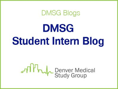 DMSG student intern blog